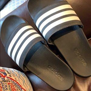 Adidas slides -trendy AF